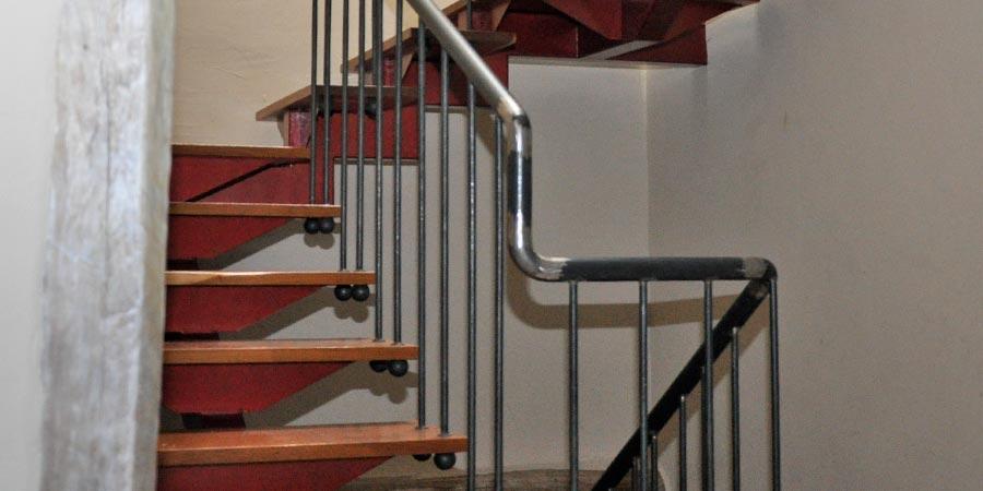 escaleras de forja