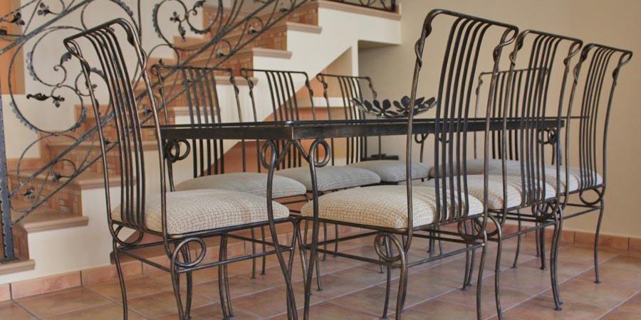 Dise o y decoraci n de muebles de forja en cantabria - Muebles en forja ...